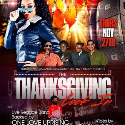 Thanksgiving lock in tonight at Heroes lounge